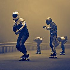 Longboarders  by Svein Nordrum