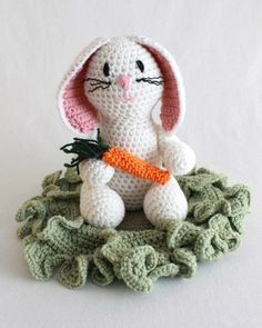 Picture of Baxter Bunny Crochet Pattern