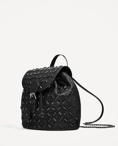Image 4 of BACKPACK WITH DETAILS from Zara