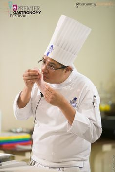 """Le Cordon Bleu Mexico & Chef Omar Morales conducted a seminar of """"Modern Mexican Cuisine for 5* City & Resort Hotels"""" during 6th Gastronomy Festival. All the participants ad the opportunity to learn every modern and latest technique first-hand from the expert ones. City Resort, Le Cordon Bleu, Hotel 6, Hotels And Resorts, Opportunity, Mexico, Learning, Modern, Trendy Tree"""