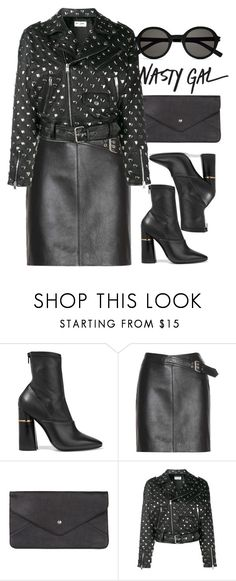 """""""I set my sights on you ...."""" by andrea99x ❤ liked on Polyvore featuring 3.1 Phillip Lim, Yves Saint Laurent, Double Oak Mills and Nasty Gal"""