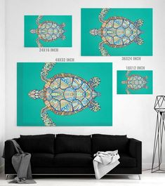Ornamental Turtle Canvas Print - GearBunch Leggings / Yoga Pants how to make canvas, fall canvas art diy, canvas layout ideas Turtle Canvas Print - GearBunch Leggings / Yoga Pants Fall Canvas Art, Canvas Collage, Christmas Paintings On Canvas, Christmas Canvas, Abstract Canvas Art, Canvas Wall Art, Canvas Prints, Hand Prints, Canvas Paintings