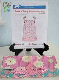 Children's Boutique Sewing Patterns: Pillowcase Dress Patterns