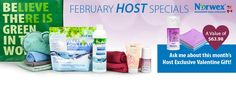 Norwex Canada & US February Host Specials Banner