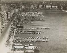 Germaine Krull Vue aérienne du Vieux Port Marseille 1935 City Photo