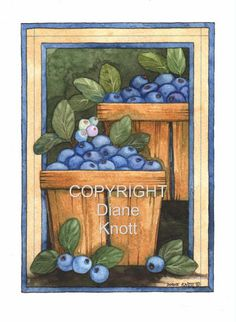 Painting by Diane Knott - Licensed and copyrighted for greeting cards.