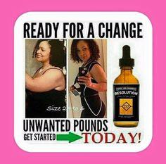 Wow. Look at this. Resolution is so Amazing. Its time to get your health back. There is still time. Lose 1-3lbs/day the Healthy Way. Call me @ 678.439.7832 and get started Today!! If I don't pick up...Just leave a detailed message and I will call you back ASAP!!! 〰〰〰〰⤵ Get Your Resolution Drops at http://gethealthywithtamika.com. Click Shop. If needed my Rep ID is 4531811. ~~~~~~~⤵ Grab a Copy of the Official Resolution Meal Plan Here ➡http://resolution20info.com