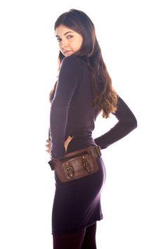 Love this leather money belt