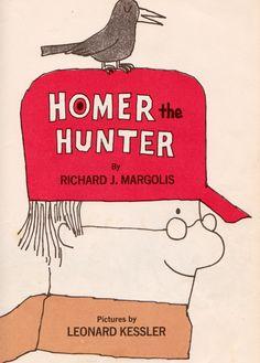 my vintage book collection (in blog form).: In the shop.... Homer the Hunter - illustrated by Leonard Kessler