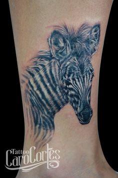 ZEBRA  Caro cortes Colombian tattoo artist. http://carocortes.tumblr.com/ http://www.carocortes.com/ #cebra #zebra #zebratattoo #tatuajecebra #carocortes #tattoocarocortes #tatuadora.