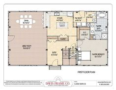 30x50 rectangle house plans Expansive OneStory I would add a