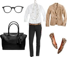 """Work Outfit"" by gardekm on Polyvore"