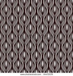stock vector : Seamless pattern. Abstract curves line