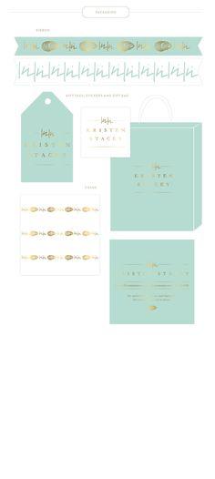 Emily McCarthy Branding Design | Kristen Stacey Packaging Materials
