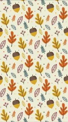Wallpaper iPhone autumn pattern ⚪️ More Wallpaper iPhone autumn pattern ⚪️ Cute Fall Wallpaper, Wallpaper Free, Holiday Wallpaper, Halloween Wallpaper, Pattern Wallpaper, Cute Backgrounds, Cute Wallpapers, Wallpaper Backgrounds, Iphone Wallpapers