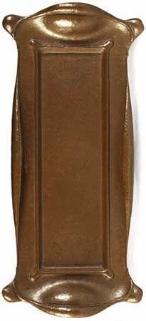 Onondaga Metal Shops (1901-1904) - Organic Tray. Hammered Copper.