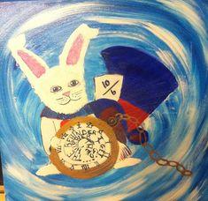 The Warped white rabbit