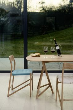 Rectangular oak #table KOZA TABLE - Gazzda