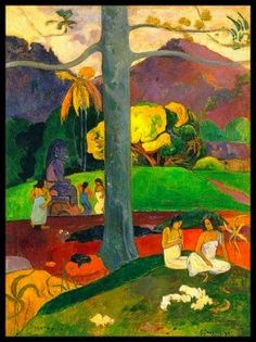 Paintings And More: Gauguin