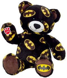 NEW Build a Bear Batman Superhero Themed Teddy 16 in. Stuffed Plush Toy Animal Retired BAB Plushie In Stock Now at http://www.bonanza.com/listings/NEW-Build-a-Bear-Batman-Superhero-Themed-Teddy-16-in-Stuffed-Plush-Toy-Animal/279685887