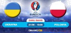EURO 2016 C Grubu üçüncü maçında Hüseyin Göcek dördüncü hakem olarak görev yapacak. Ukrayna kendi saha ve taraftarı önünde Polonya karşısında galibiyet peşinde! Ukrayna son 10 resmi maçta 6 galibiyet, 1 beraberlik ve 3 mağlubiyet aldı. Polonya son 10 resmi maçta 6 galibiyet, 3 beraberlik ve 1 mağlubiyet aldı.  https://www.dinamobet4.com/tr/sports#/