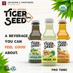 """Introducing our New M.V.P. (Most Valuable Product Line); Tiger Seed Tonic! Visit your nearest Florida Whole Foods Market to soothe your mind and body with our All-Natural Tiger Seed Tonic. """"A Beverage You Can Feel Good About!"""" #tigerseedtonic #jacksonandpartners #mvp #sootheyourmindandbody Burger Recipes, Pork Recipes, Seafood Recipes, Whole Food Recipes, Steak Rubs, Homemade Burgers, Whole Foods Market, Feel Good, Beverages"""