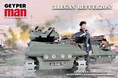 Geyperman soldado de tanques