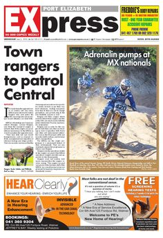 PE Express 3 June 2015 Port Elizabeth, 30 Years, Newspaper, June, Author, Books, Libros, Journaling File System, Book