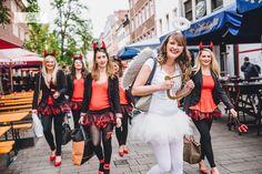 #Junggesellinnenabschied #AltstadtDüsseldorf #Hennight #devil #angel #bachelorettepartyidea #bachelorettepartydiy