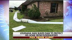 800mm High Flood Barrier For Front Door Flood Protection