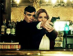 peaky blinders. tommy and grace