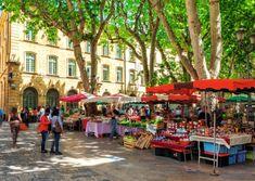 Aix-en-Provence market © Hornet83 / Dreamstime.com