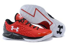 5182a0edc2d4 Newest And Cheapest Under Armour Curry One Low Team China Red Black White 2016  Basketball Shoes