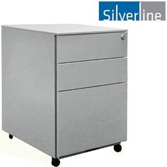 NEXT+DAY+Silverline+Steel+Pedestals  www.officefurnitureonline.co.uk