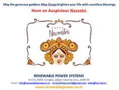 #Renewablepowersystemsdelhi wishes #HappyNavrati