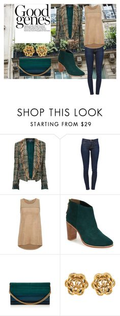 """""""Good Genes"""" by cherea ❤ liked on Polyvore featuring Maiyet, Frame Denim, maurices, Ted Baker and Elie Saab"""
