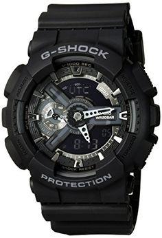 Casio G-Shock X-Large Display Stealth Black Watch (GA110-...