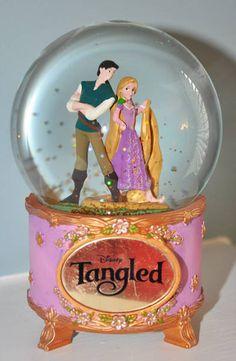 Tangled snow globe