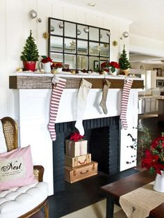 Decorating a fireplace mantel can be challenging, but if executed properly, can make for a beautiful focal point in a room. Get nine inspiring mantel decorating ideas from spring to winter.