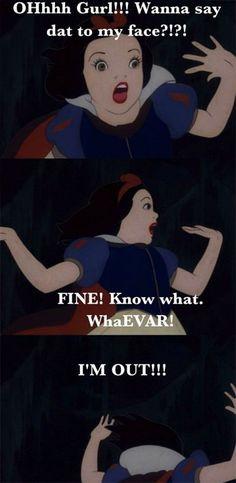 Sassy Snow White!