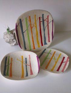 Piekarnia sztuki - Krystyna Nicz talerze, zastawa stołowa, serwis obiadowy ceramika, dekoracja wnętrz, handmade ceramic
