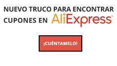 Extensión de Chrome y Firefox para encontrar cupones y descuentos en AliExpress