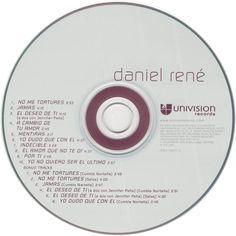 Caratula Cd de Daniel Rene - Daniel Rene