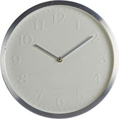 White Face Wall Clock from Homebase.co.uk
