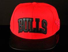 "Strapback Saturdays: MITCHELL & NESS x NBA ""Chicago Bulls Wool & Leather"" Strapback Cap"