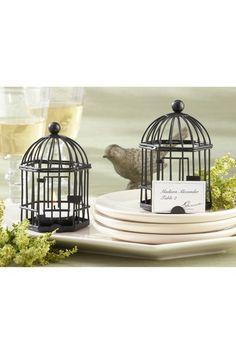 Mini birdcage centerpieces - photo#29