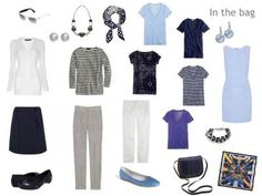 Packing for Paris: in shades of blue - Tish Jett