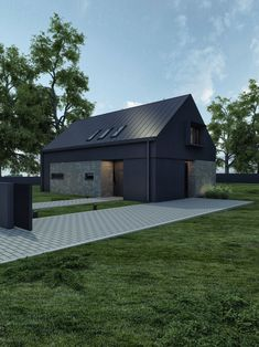 Modular Homes, Garage Ideas, Modern House Design, Smart Home, Cladding, Interior Inspiration, Shed, Barn, Outdoor Structures