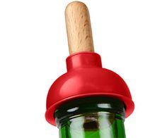 Plunge Wine Bottle Stopper