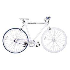 Bicicleta Fixa Airwalk Pista V Cromoly Branca :: FreeCycle